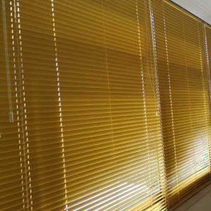 Žaluzine žute boje